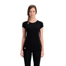 Dámské merino triko MONS ROYALE BELLA TECH TEE 19/20 black / neon Velikost sw S