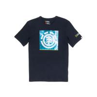 Element SOLVENT ICON FLINT BLACK dětské tričko s krátkým rukávem - 16