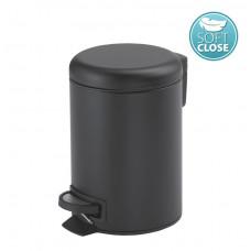 Gedy - POTTY odpadkový koš 5l, Soft Close, černá mat (330914)