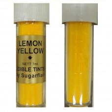 Sugarflair Jedlá prachová barva Lemon Yellow (citrónově žlutá), 2g