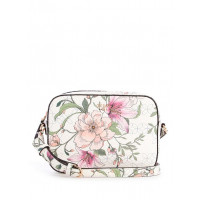 GUESS kabelka Kamryn Floral Top-Zip Crossbody floral bílá vel.