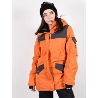 Billabong SCENIC ROUTE ORANGE dámské zimní bundy na snowboard - S