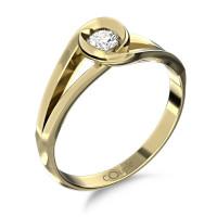 Zlato Zlatý dámský prsten Pauline 6610223 Velikost prstenu: 49