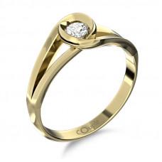 Zlato Zlatý dámský prsten Pauline 6610223 Velikost prstenu: 56