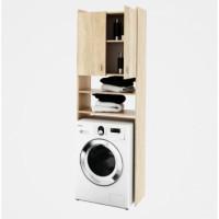 Koupelnová skříňka nad pračku NATALI dub sonoma - TempoKondela