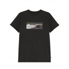 Billabong INVERSE black pánské tričko s krátkým rukávem - L