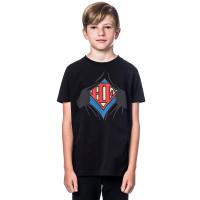 Horsefeathers CLARK black dětské tričko s krátkým rukávem - S