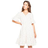 Billabong LOVE GAME SALT CRYSTAL společenské šaty krátké - XS
