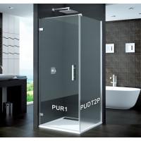 SanSwiss PUDT2P 120 10 22 Boční stěna sprchová 120 cm, chrom/durlux