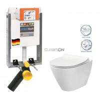 JOMO - SET JOMOTech Modul pro zazdění LIGHT + sedátko + WC CERSANIT CLEANON CITY (164-14600479-00 CI1)