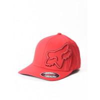 Fox Episcope red/black baseball čepice - S/M