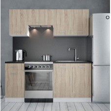 Malá kuchyňská linka Donald II 120/180 sonoma - FALCO