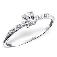 OLIVIE - stříbrný prsten 0207 Velikost prstenů: 9 (EU: 59 - 61)