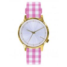 Komono ESTELLE VICHY PINK dámské hodinky analogové