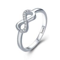 OLIVIE Stříbrný prsten NEKONEČNO 3253 Velikost prstenů: 6 (EU: 51 - 53)