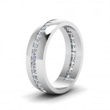 OLIVIE 3773 Stříbrný rhodiovaný prsten Velikost prstenů: 5 (EU: 47 - 50)