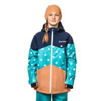 Horsefeathers ADRIEN HEATHER NAVY dětská zimní bunda - L