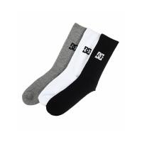 Dc SPP CREW 3PK moderní barevné pánské ponožky