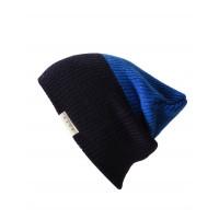 Neff DUO NAVY/BLUE pánská háčkovaná čepice