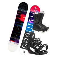 Gravity ELECTRA 2 dámský snowboardový set