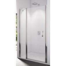 SanSwiss SL13 0900 50 30 Sprchové dveře jednokřídlé s pevnou stěnou 90 cm, aluchrom/mastercarré