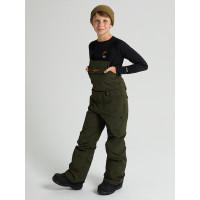 Burton SKYLAR BIB forest night zateplené kalhoty dětské - XL