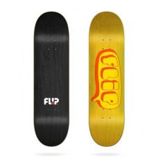 Skate deska FLIP Team Bubble Yellow 8.25