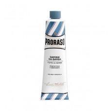 PRORASO Blue mýdlo na holení s hydratačním účinkem v tubě 150ml