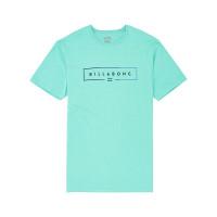 Billabong UNITY LIGHT AQUA pánské tričko s krátkým rukávem - M