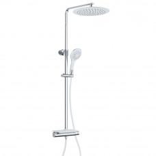 Sprchový set včetně termostatické baterie GRANDE VITA WHITE