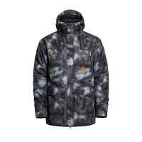 Horsefeathers THORN gray camo zimní bunda pánská - M