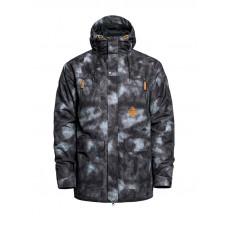 Horsefeathers THORN gray camo zimní bunda pánská - XL