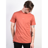 RVCA SMALL RVCA RED CLAY pánské tričko s krátkým rukávem - M