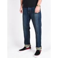 RVCA WEEKEND DENIM oil blue značkové pánské džíny - 34