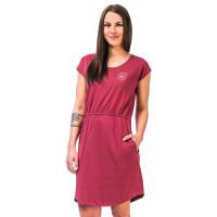 Horsefeathers MILLIE garnet rose společenské šaty krátké - M