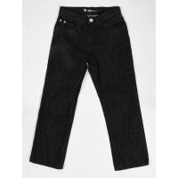 Etnies STRAIGHT black dětské plátěné kalhoty - 10