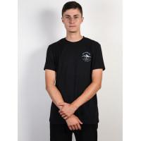 Billabong AURORA black pánské tričko s krátkým rukávem - M