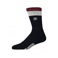 Element TIMBER ECLIPSE NAVY moderní barevné pánské ponožky