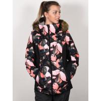 Roxy JET SKI PREMIUM LIVING CORAL PLUMES zimní bunda dámská - M