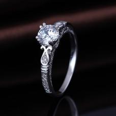 OLIVIE Stříbrný prsten 2182 Velikost prstenů: 9 (EU: 59 - 61)