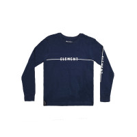 Element LINE LOGO indigo dámské tričko s dlouhým rukávem - S