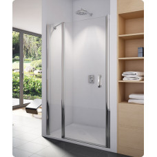 SanSwiss SL13 1200 01 30 Sprchové dveře jednokřídlé s pevnou stěnou 120 cm SL1312000130