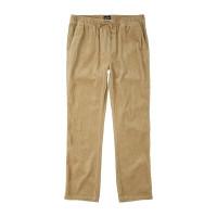Billabong LAYBACK LIGHT KHAKI plátěné sportovní kalhoty pánské - M