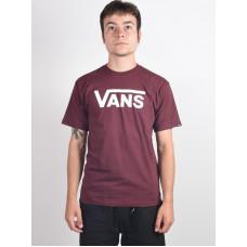 Vans CLASSIC PORT ROYALE/WHITE pánské tričko s krátkým rukávem - M
