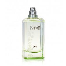 Korloff N°1 Green Diamond toaletní voda Pro ženy 88ml TESTER