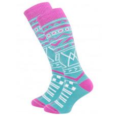 Horsefeathers RIVEN BLUEBIRD kompresní ponožky - 7 - 8