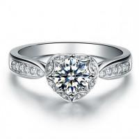 OLIVIE Stříbrný prsten SRDCE 2963 Velikost prstenů: 7 (EU: 54 - 56)