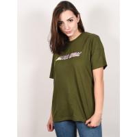 Santa Cruz Hand Blocker MILITARY GREEN dámské tričko s krátkým rukávem - 8
