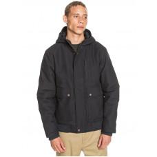 Quiksilver BROOKS black zimní bunda pánská - XL