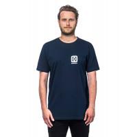 Horsefeathers MINI LOGO ECLIPSE pánské tričko s krátkým rukávem - XL